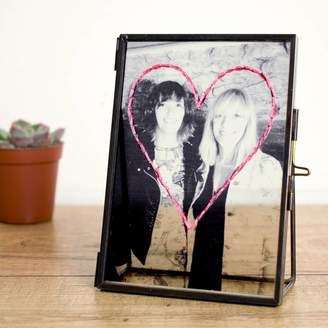 Chi Chi Moi Personalised Embroidered Photo Frame For Mother's Day