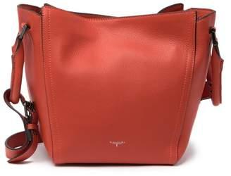 T Tahari Jordan Convertible Leather Tote Bag