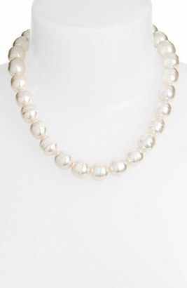 Women's Majorica 14Mm Baroque Simulated Pearl Strand Necklace $350 thestylecure.com