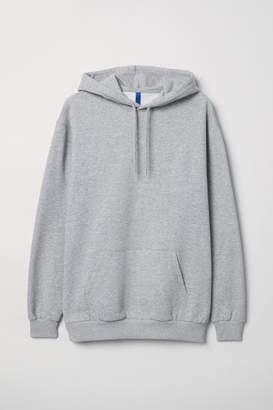 H&M Hooded Sweatshirt - Gray