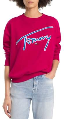 Tommy Jeans TJW Embroidered Logo Sweatshirt