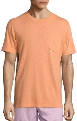 Saks Fifth Avenue Short Sleeve Slub Tee