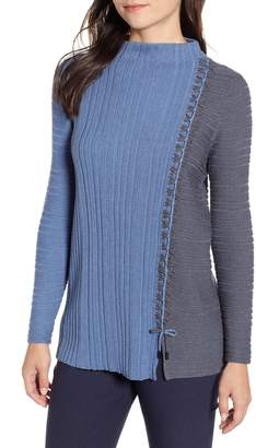 Nic+Zoe Side Stitch Sweater