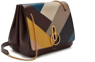 Mulberry Marloes Satchel Multicolour Smooth Calf Chevron