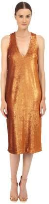 Prabal Gurung Dusted Paillette Sleeveless Dress Women's Dress