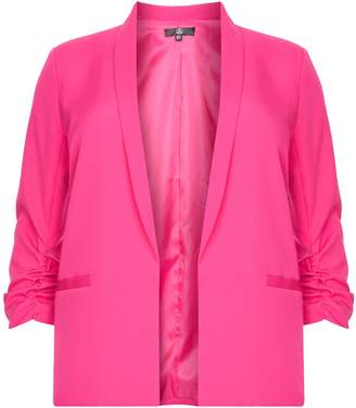 Next Womens Missguided Curve Bright Tailored Blazer