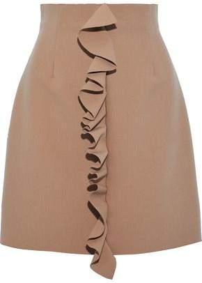 MSGM Ruffled Crepe Mini Skirt