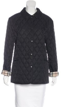 Burberry London Quilted Lightweight Jacket $400 thestylecure.com