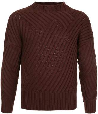 Cerruti ribbed knit jumper