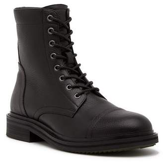 John Varvatos Collection Cooper Officer Leather Mid Top Boot