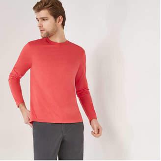 Joe Fresh Men's Long Sleeve Tee, Light Red (Size L)