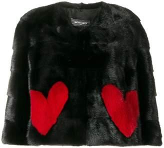 Simonetta Ravizza Jade Hearts jacket