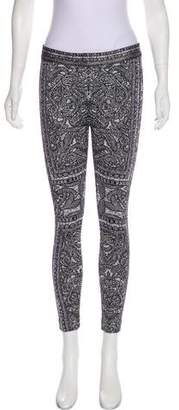 Herve Leger Zoey Knit Leggings