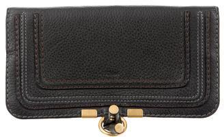 Chloé Chloé Leather Logo Wallet