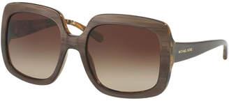 Michael Kors Women's Harbor Mist 55Mm Sunglasses