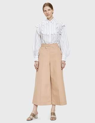 MSGM Cotton Gaberdine Pant