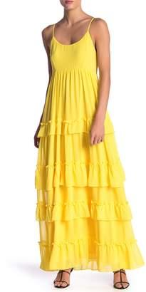 Yumi Kim Saint Martin Ruffled Maxi Dress