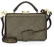 Mark Cross Women's Grace Metallic Leather Mini Box Bag