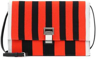 Proenza Schouler Small Lunch striped shoulder bag