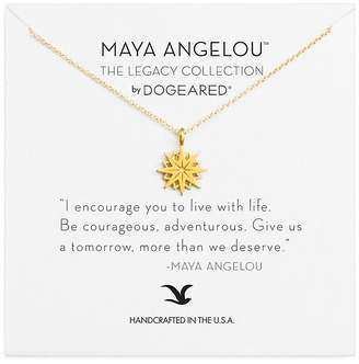"Dogeared Maya Angelou Legacy Collection ""I Encourage You"" Necklace, 16"""