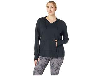 Aventura Clothing Plus Size Zahara Solid Hoodie