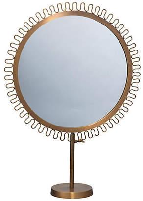 Jamie Young Sunburst Standing Mirror - Aluminum