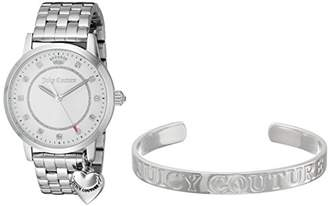 Juicy Couture Women's Quartz Stainless Steel Casual Watch, Color:Silver-Toned (Model: 1950010) $225 thestylecure.com