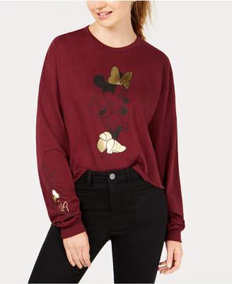 Mad Engine Juniors' Minnie Bows Sweatshirt