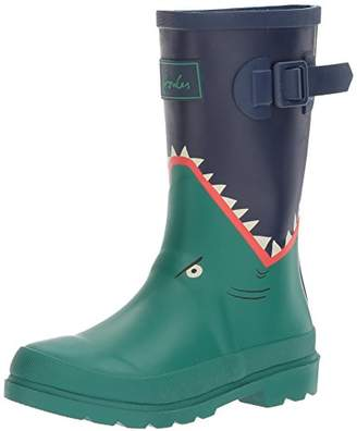 Joules Boys Printed Welly Rain Boot