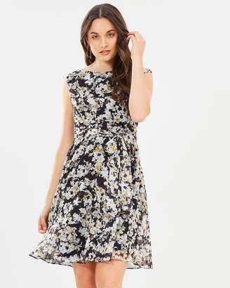 Wallis Ditzy Fit Flare Dress