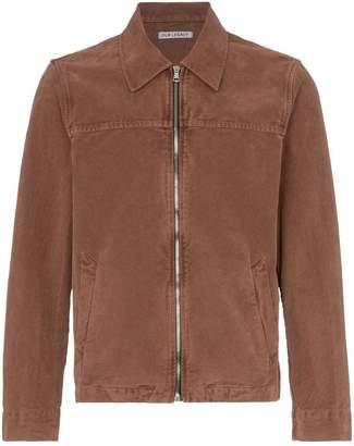 Our Legacy Moleskin lightweight zipped jacket