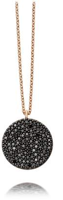 Astley Clarke Icon Black Diamond Pendant Necklace