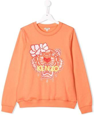 Kenzo TEEN embroidered sweatshirt