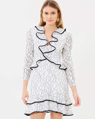 Encore Long Sleeve Lace Dress