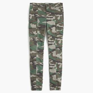 "J.Crew Tall9"" cargo toothpick pant in camo print"