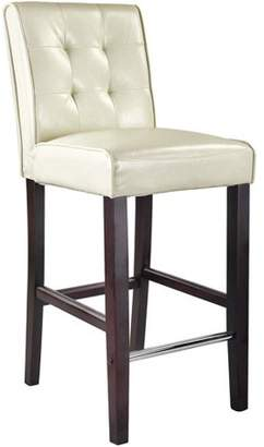 CorLiving Antonio Bar Height Barstool in Bonded Leather