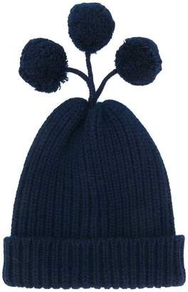 Thom Browne Cashmere Blend Pom-pom Hat