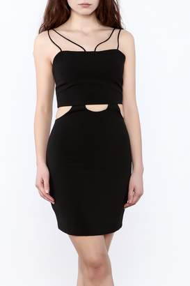 Endless Rose Black Mini Dress