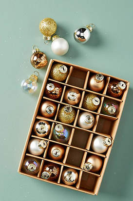 Anthropologie Miniature Copper Ornaments, Set of 24