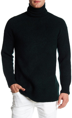 TOPMAN Rib Turtleneck Sweater $39.97 thestylecure.com