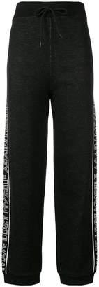 MSGM drawstring waist track pants