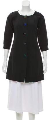 Emilio Pucci Woven Short Coat