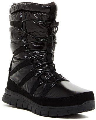 Khombu Alta Faux Fur Lined Quilted Boot $99 thestylecure.com