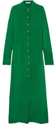 Olivia von Halle Hero Silk-marocain Maxi Dress