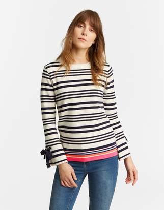 Joules Clothing Myanna Tie Sleeve Jumper