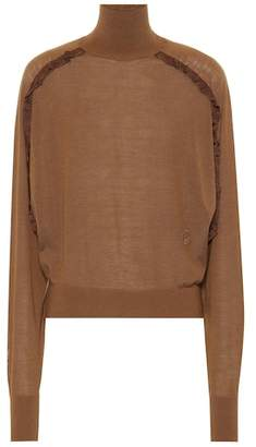 Chloé Wool turtleneck sweater