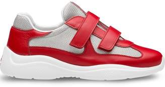 Prada touch strap runner sneakers