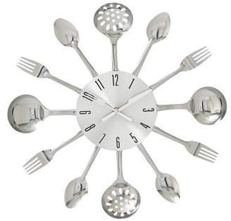 Benzara Fabulous Metal Kitchen Wall Clock