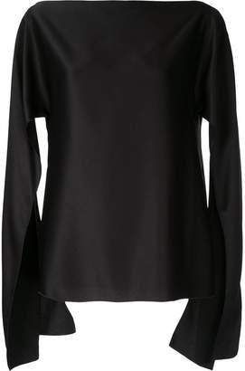 CHRISTOPHER ESBER cut-out sleeve blouse