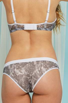 Negative Underwear Silky Brief in Stone